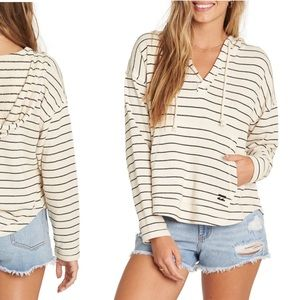Billabong Beach Daze 2 Pullover Striped Hoodie